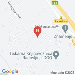Map PENZION KOVAC