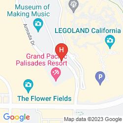 Map GRAND PACIFIC PALISADES RESORT & HOTEL