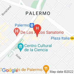 Map SUITES PALERMO HOTEL