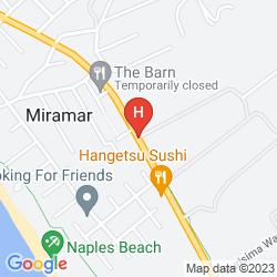 Map COMFORT INN HALF MOON BAY