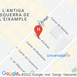 Map AXEL HOTEL BARCELONA & URBAN SPA- ADULTS ONLY