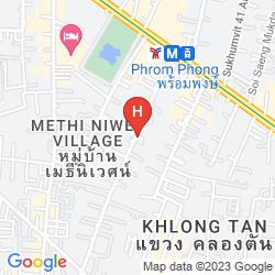 Map THE DAVIS BANGKOK