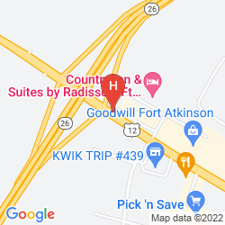 Map HOLIDAY INN EXPRESS & SUITES FORT ATKINSON
