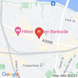 Map MERCURE LONDON BRIDGE