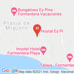 Map HOSTAL ES PI 2