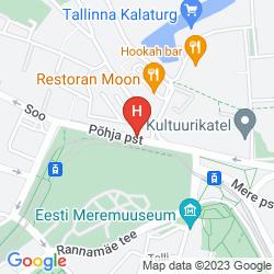 Map HESTIA HOTEL ILMARINE