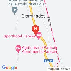 Map SPORTHOTEL TERESA