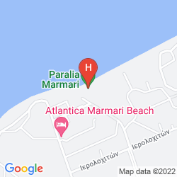 Map SANDY BEACH HOTEL