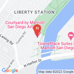 Map COURTYARD BY MARRIOTT SAN DIEGO AIRPORT/LIBERTY STATION