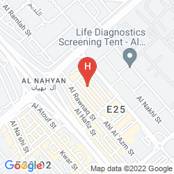 Map AL DIAR SAWA HOTEL APARTMENTS