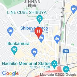 Map UNIZO SHIBUYA