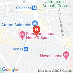 Map VIP EXECUTIVE SALDANHA