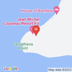 Map JEAN-MICHEL COUSTEAU FIJI ISLANDS RESORT