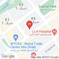 Map ROYAL ROTARY HOTEL APARTMENTS
