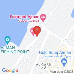 Map THE AJMAN PALACE