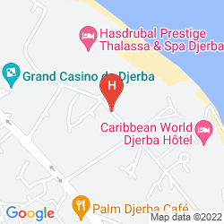 Map APPART HOTEL RODES