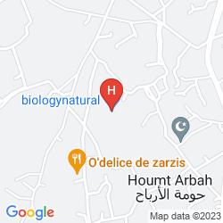 Map LAICO DJERBA