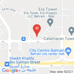 Map S HOTEL BAHRAIN