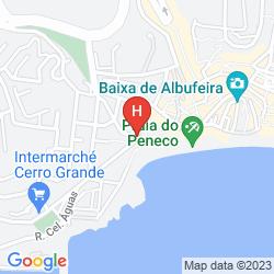 Map ROCAMAR EXCLUSIVE HOTEL & SPA