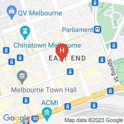 Map STAMFORD PLAZA MELBOURNE