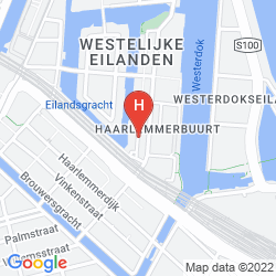 Map YAYS CONCIERGED BOUTIQUE APARTMENTS BICKERSGRACHT