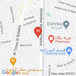 Map GOLDEN TULIP HOTEL FLAMENCO CAIRO