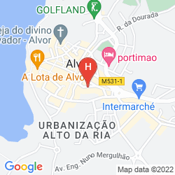 Map PESTANA DOM JOAO II BEACH & GOLF RESORT