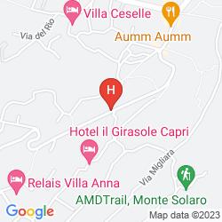 Map VILLA MIMOSA
