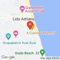 Map FAMILY HOTEL MARINA BEACH