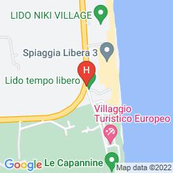 Map VILLAGGIO TURISTICO EUROPEO