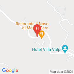 Map VILLA VOLPI