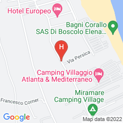 Map CAMPINGVILLAGGIO ATLANTA E MEDITERRANEO - CAMPGROUND