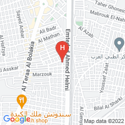 Map MARRIOTT MENA HOUSE, CAIRO