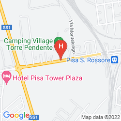 Map CAMPING VILLAGE TORRE PENDENTE