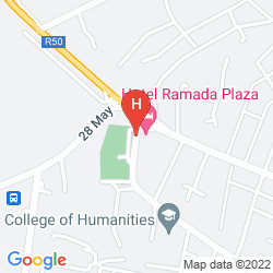 Map RAMADA PLAZA GENCE
