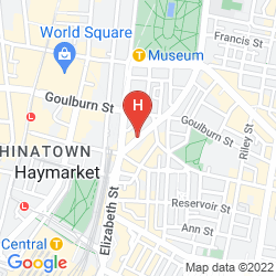 Map ZARA TOWER - SERVICED APARTMENTS