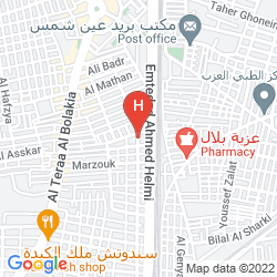 Map INTERCONTINENTAL CAIRO SEMIRAMIS