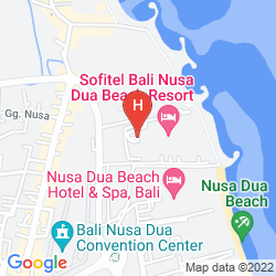 Map SOFITEL BALI NUSA DUA BEACH RESORT
