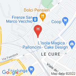 Map CASA D.SECCHIAROLI - CASA PER FERIE