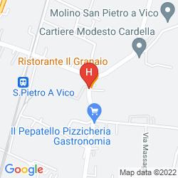 Map AFFITTACAMERE IL GRANAIO