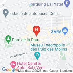 Map RYANS POCKET HOSTEL
