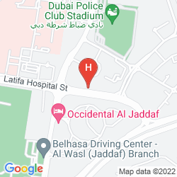 Map REFLECTIONS HOTEL DUBAI