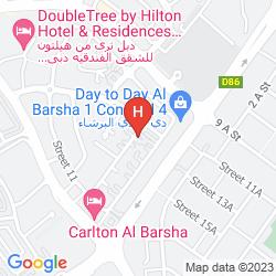 Map ADAMO HOTEL APARTMENTS