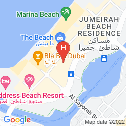Map RODA AMWAJ SUITES