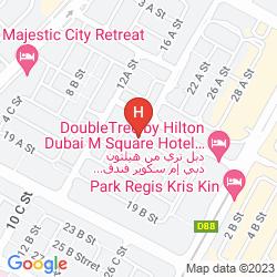 Map XCLUSIVE CASA HOTEL APARTMENTS