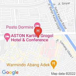 Map THE GLORIA SUITES JAKARTA
