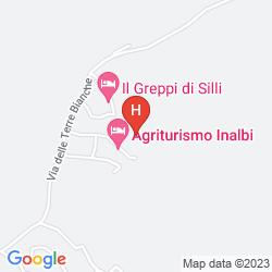 Map AGRITURISMO VECCHIO BORGO DI INALBI