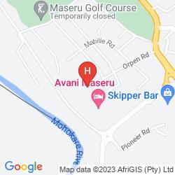 Map MASERU SUN