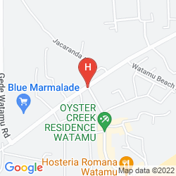 Map JACARANDA BEACH RESORT