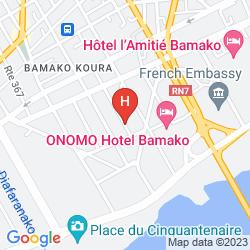Map MIRABEAU